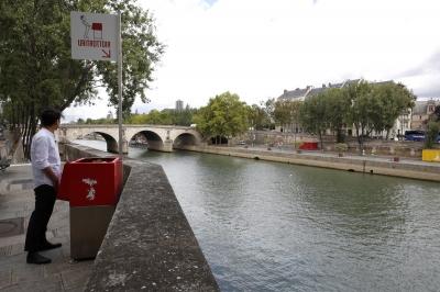 Novos mictorios publicos causam polemica na França