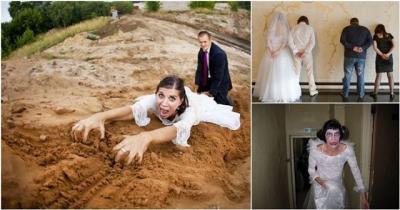 As fotos de casamentos mais bizarras que você já viu