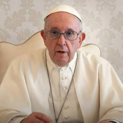 Papa Francisco como um garoto propaganda?