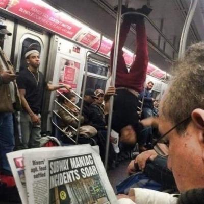 20 situações bizarras que só são vistas nos transportes públicos
