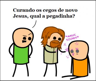 A pegadinha de Jesus
