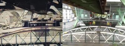Vídeo compara o mesmo lugar com mais de 100 anos de diferença
