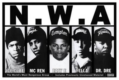 De onde veio o nome de seus grupos de rap favorito?