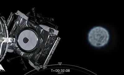 O que foi isso: UFO aparece durante o lançamento do satélite AMOS-17