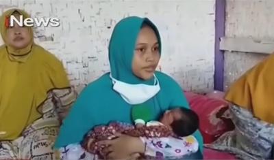 Mulher indonésia afirma que uma rajada de vento a deixou grávida