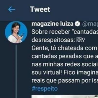 Magazine Luiza chateada
