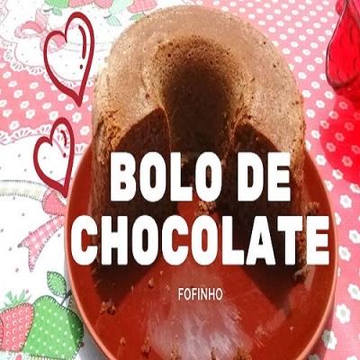 Ninguém Resiste à Receita do Bolo de Chocolate Fofinho