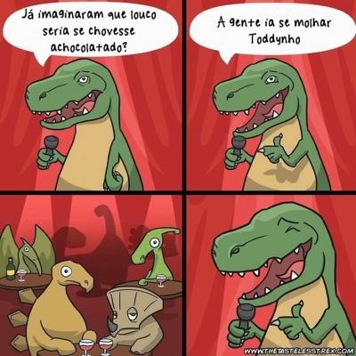 O T-Rex humorista #1