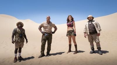 'Jumanji: Próxima Fase' chega aos cinemas no dia 16. Veja o trailer