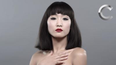 100 anos de beleza japonesa em menos de 2 minutos