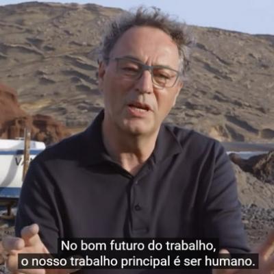 A consciência com o futurista Gerd Leonhard