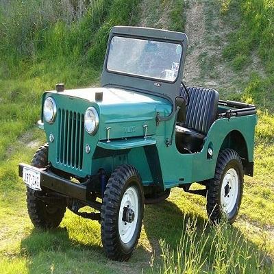 Jeep  Willys -  A linha Jeep foi produzida até 1983.