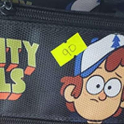 Estojo personalizado de Gravity Falls