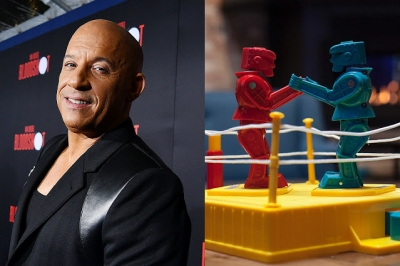 Vin Diesel vai fazer um filme inspirado no brinquedo Rock 'Em Sock
