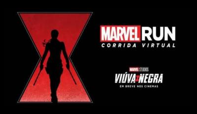 MARVEL RUN 2020 - Edição Viúva Negra será uma corrida virtual - Participe!
