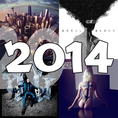 O melhor do rock em 2014