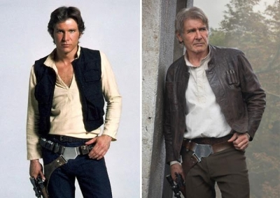 Confira o antes e depois dos atores de Star Wars