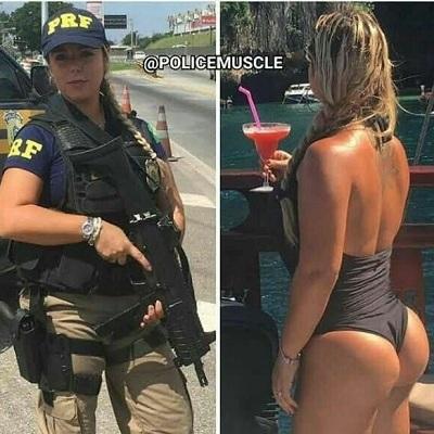As mulheres que ficam ainda mais lindas vestidas como militares