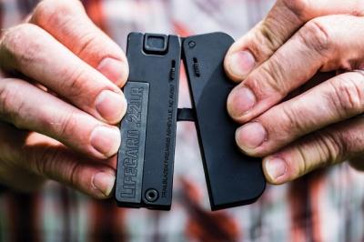 Conheça a pistola dobrável que cabe no seu bolso