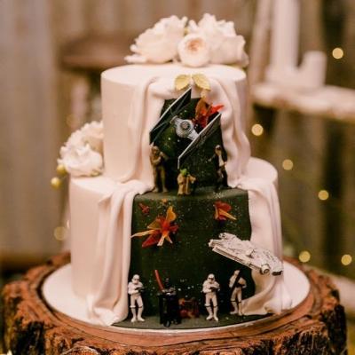Os bolos de casamento mais incríveis que você vai ver