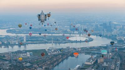 Também quer viajar nesse balão em Londres?