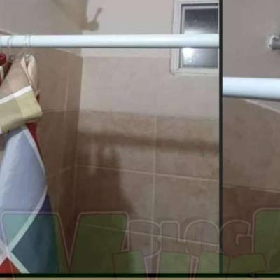 Banho na torneira... literalmente
