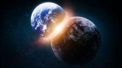 Estudo afirma que Terra e Vênus se formaram de repetidos choques, desafiando con