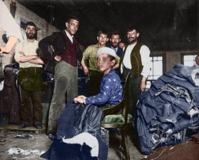 Fotos antigas colorizadas e as suas histórias #5