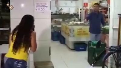 Mulher do Pedro ensina a fazer um barraco