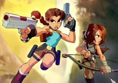 Lara Croft no Brawlhalla