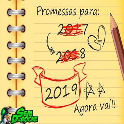 24 promessas de ano novo que a gente faz mas não costuma cumprir