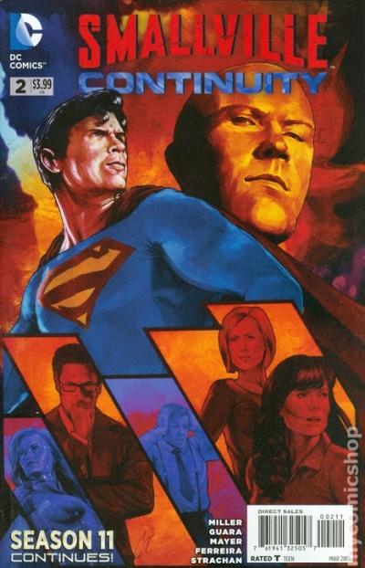 Smallville terá um reboot animado, saiba mais!