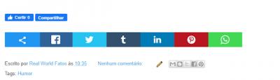 Dicas para Blogger 26 - Tutorial botões curtir e compartilhar
