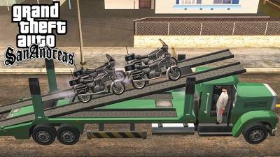 GTA San Andreas #67 Motos da Polícia