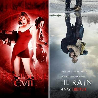 TOP 7 - Semelhanças entre Resident Evil e The Rain