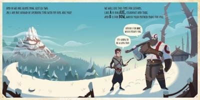 God of War ganha livro infantil... mas para adultos
