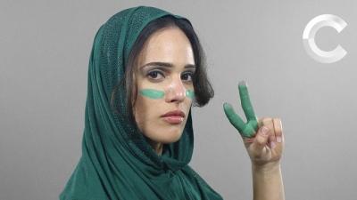 100 anos de evolução de beleza iraniana