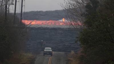 Você sabe o quão rápido é a lava de um vulcão?