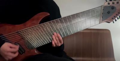 Qual o som de uma guitarra de 14 cordas