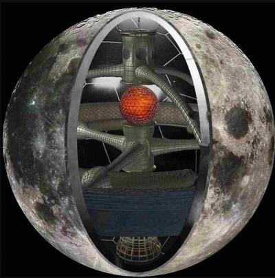"""A Lua é uma """"estação espacial"""", que espia o nosso planeta"""