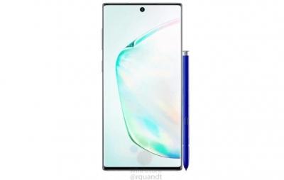 Imagens oficiais do Galaxy Note 10 e 10+ mostram cores e design
