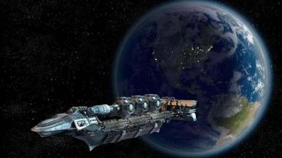 A China planeia construir uma mega nave espacial