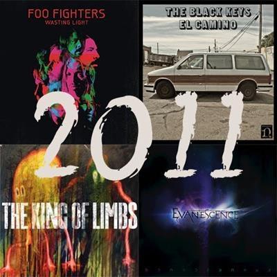O melhor do rock em 2011