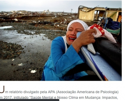 Como reagimos às catástrofes e quais os efeitos psicológicos?