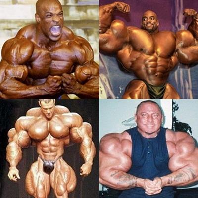 Pessoas que levaram o fisiculturismo e a musculação ao extremo