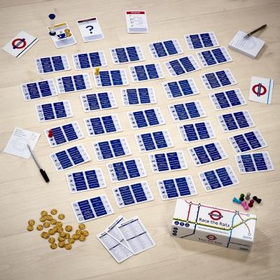Metrô de Londres ganha 'jogo de tabuleiro'