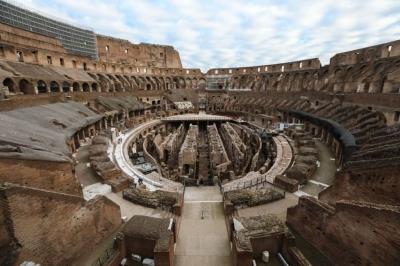 Coliseu de Roma terá assoalho retrátil reconstruído
