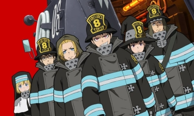 Fire Force - Revelados trailer, pôster e mês de estreia da 2ª temporada do anime