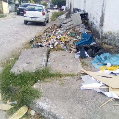 Novo depósito de lixo da cidade