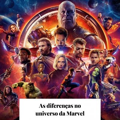 As diferenças no universo da Marvel